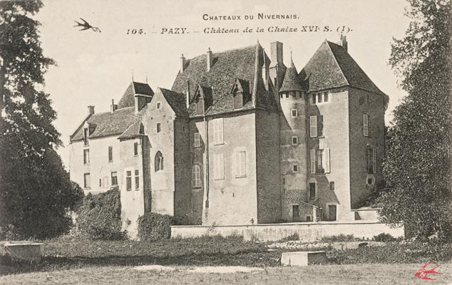 H0104 pazy 58 ch teau de la chaise xvi s 1 img for Chateau de la chaise